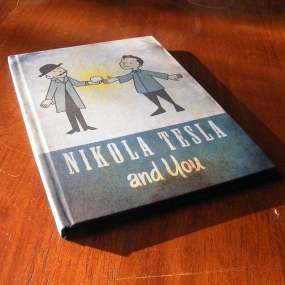 Nikola Tesla and You A5 Notebook