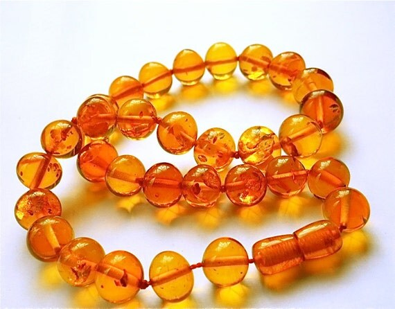 Vintage Amber Necklace Baltic Beads