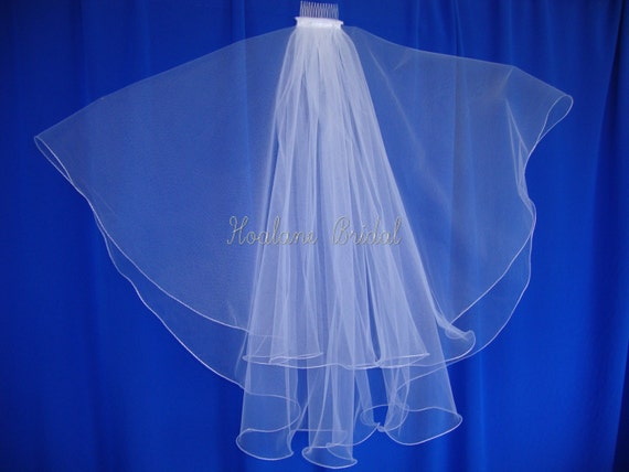 Veil, Bridal veils, Wedding Veil, Circular veil,  Waist length veil