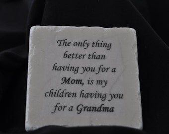 Grandma Coasters Set of 4 Handcrafted
