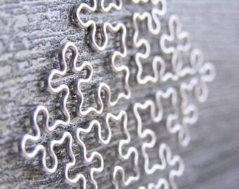 Fractal Necklace - Cesaro Fractal in Silver