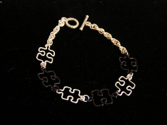 Puzzle Chain Bracelet - Made to Order