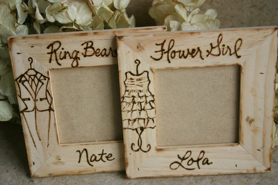 Set of 2 Gifts Favors for Flower Girl and Ring Bearer So Cute for Your Little Ones with a Replica of her Dress and His Tuxedo