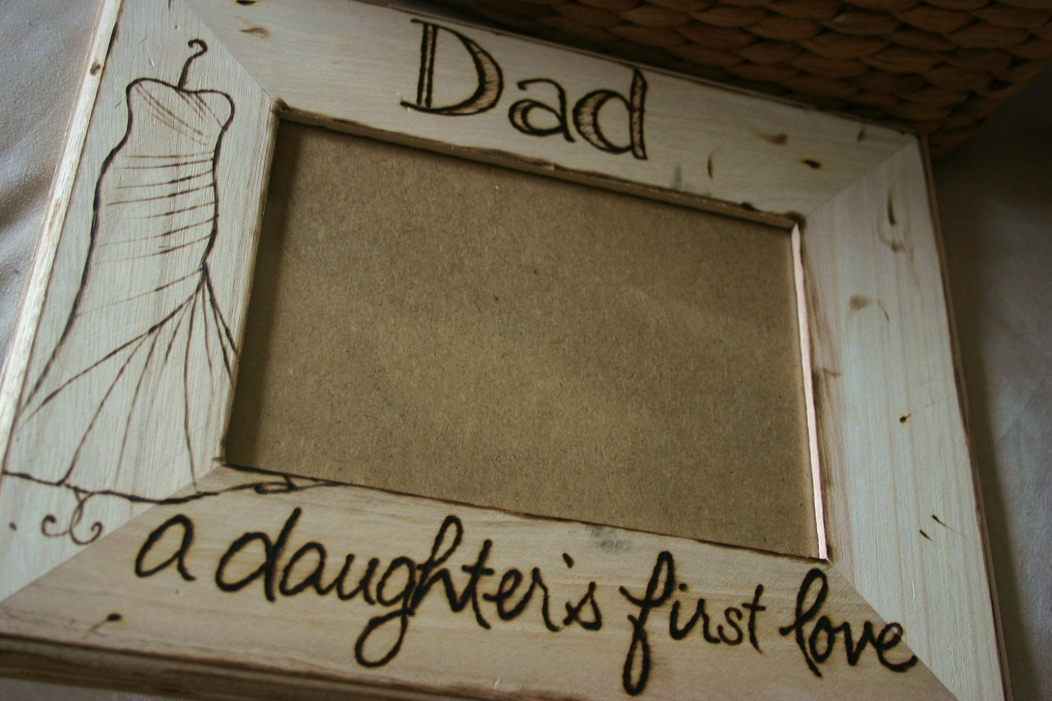 Fathers Day Gift for Dad Wedding Frame A by PrinceWhitaker