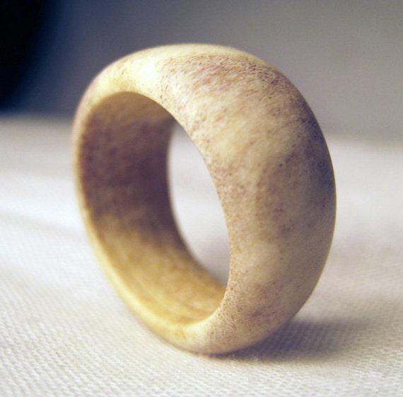 Bone Ring Deer Antler Ring