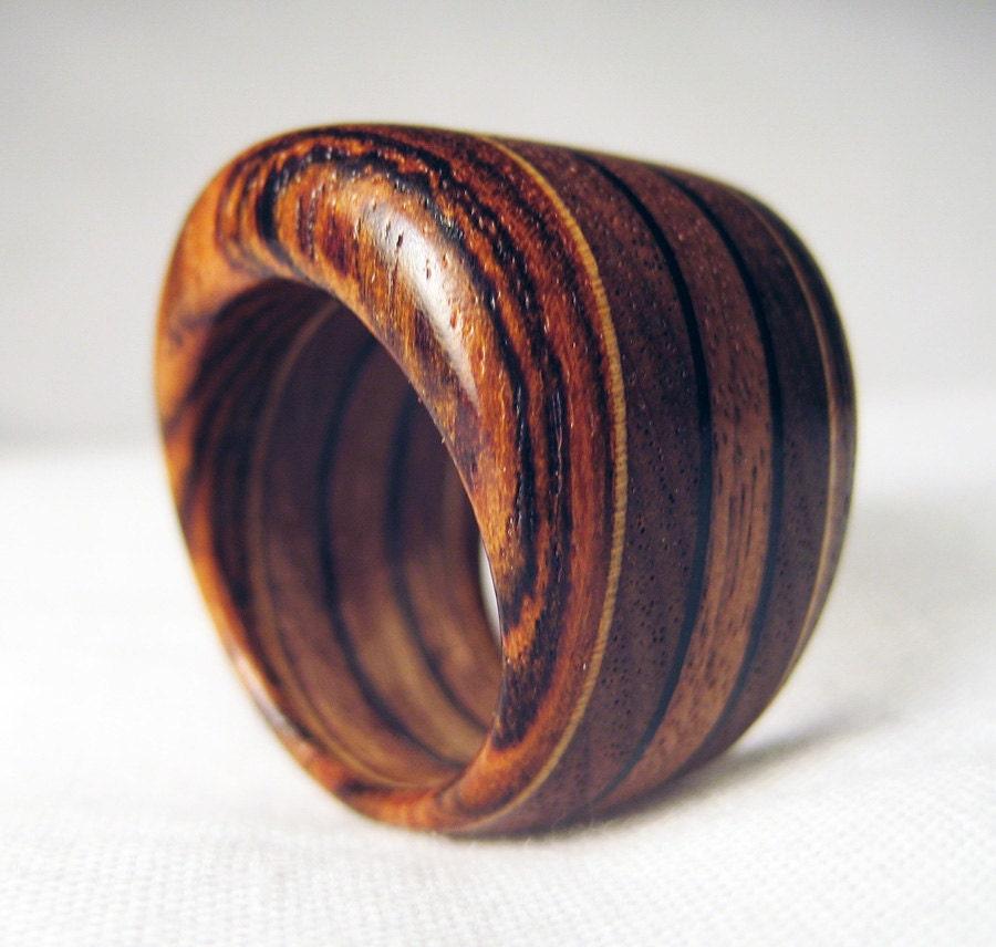 Chunky Wooden Ring Walnut Bocote & Veneer. Impressive Wedding Rings. Thror Rings. Top 5 Wedding Wedding Rings. 3ct Diamond Wedding Rings. Pink Quartz Wedding Rings. Rash Wedding Rings. Pearl Accent Engagement Rings. Alexandrite Side Stone Rings