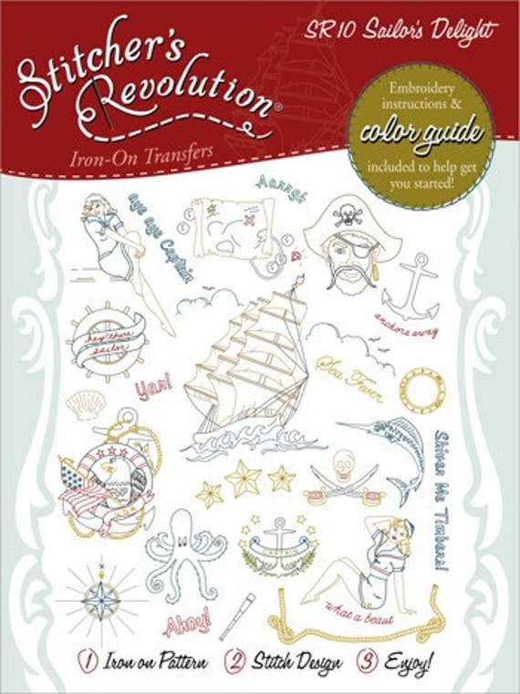 Sailor's Delight Embroidery Pattern