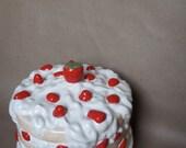 Strawberry Cake Dish