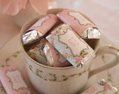 Shabby Chic Mini Candy Bar Wrappers