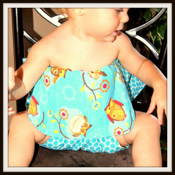 Tiny Toxins baby owl travel high chair seat
