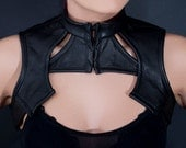 Futuristic Bolero Black custom size- SALE ITEM -Bellatrix -