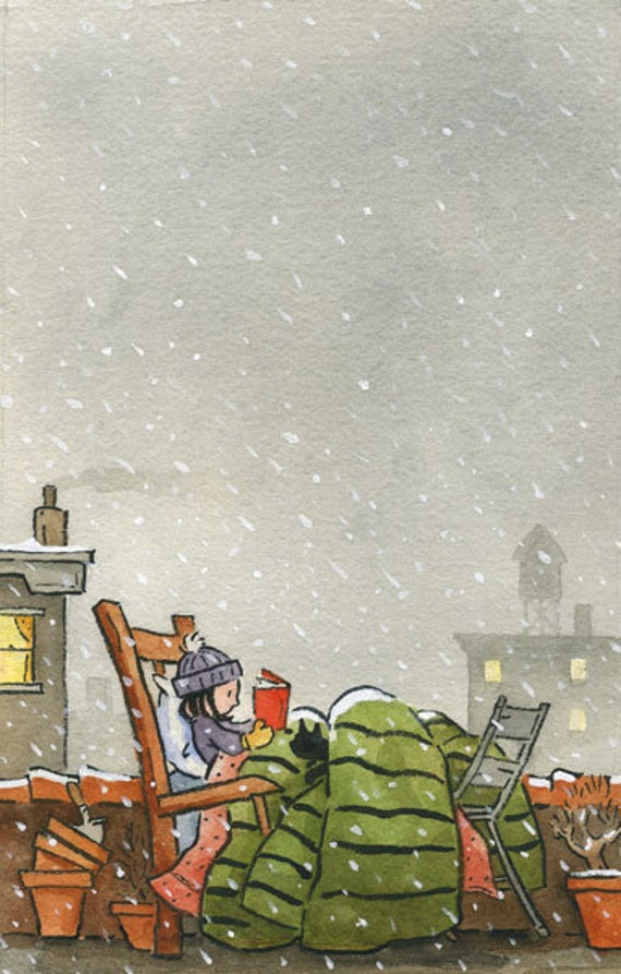 A Snowy Read