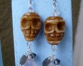 Glamourous Skull Earrings