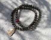 Reserved For GINA: Pyrite Bracelets