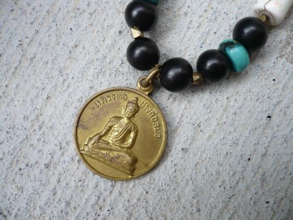Buddha Turquoise Necklace