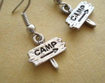 CAMP Silver Earrings  DE45