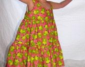 Friendly Frogs Sun Dress
