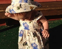 Pinocchio and the Blue Fairy Sun Hat