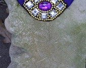 OOAK Bellydance Costume Medallion