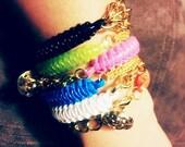 ARM CANDY- Colorful Adjustable Bracelets (Single Chain)