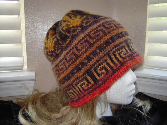 Aztec Inspired Hat