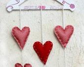 Falling Hearts Love Hanger