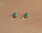 Juliete turquoise earrings
