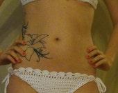 Crochet Shell Pattern String Bikini