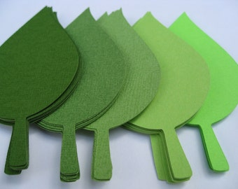 120 HUGE Apple Leaves. 7 inch. Escort Cards, Place Tags, Gift Tags, Wishing Tree. ANY COLOR Available.