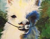 Dali Llama original painting