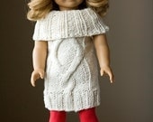 PDF Knitting Pattern Bundle, American Girl Doll Knits