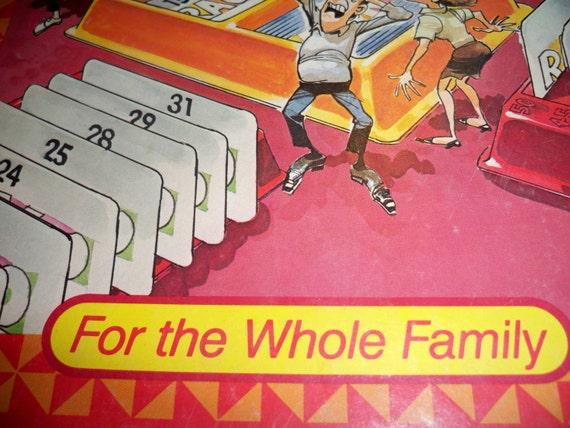 Vintage RACK-O Boardgame - Milton Bradley