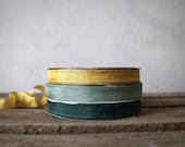 Vintage Seam Binding : Peacock Collection