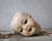 Vintage Composition Doll Head 1920s