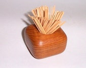 Wooden Toothpick Holder