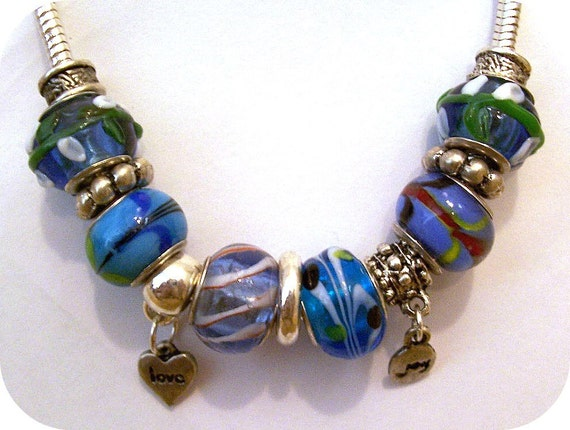 Pandora Style Jewelry Charm Bracelet