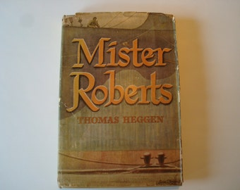 Book 'Mister Roberts' by Thomas Heggen-1946