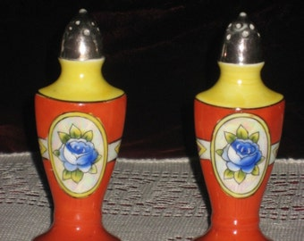 Colorful Vintage Salt and Pepper Shakers