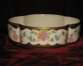 Flowered Candy Dish or Bowl