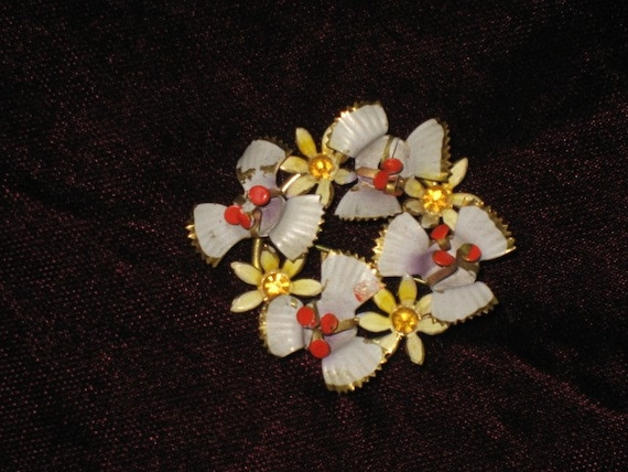 Unmarked Vintage Pin/ Brooch