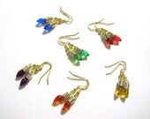 ON SALE 70% OFF Mini Christmas Lightbulb Earrings