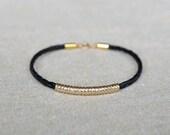 BRIDGED braided rope bracelet