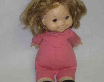 "SWEET Vintage 13"" 1973 Fisher Price NATALIE Doll No 202"