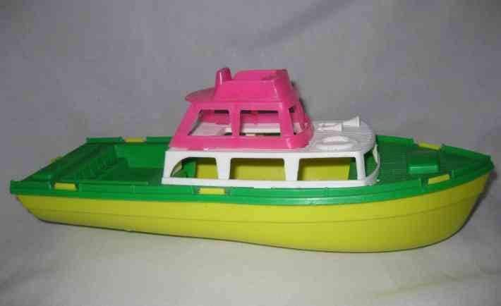 Vintage Toy Boat 94