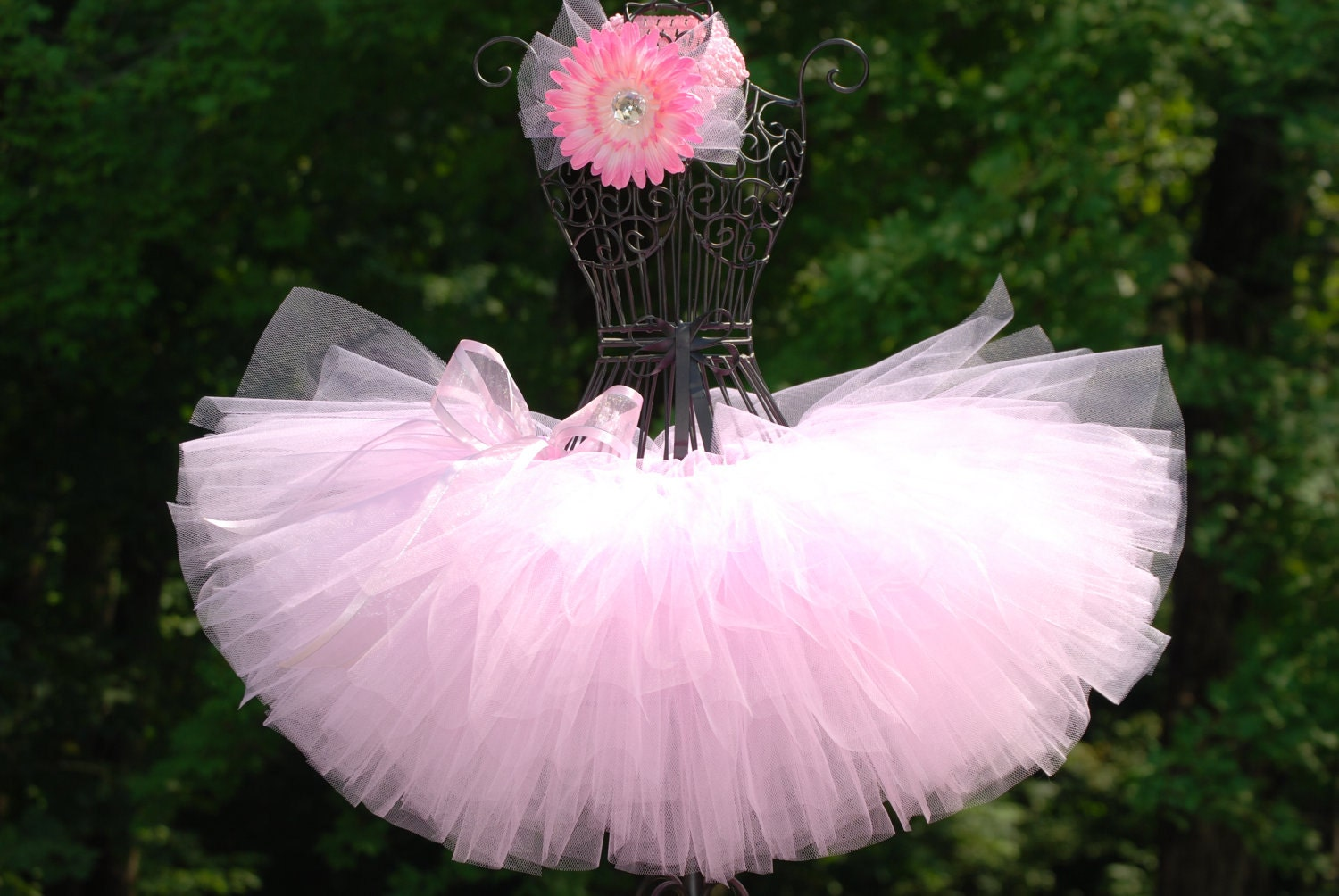 Tutus: Ballerina Tutu/Light pink tutu/ custom