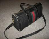 Authentic Vintage Gucci Handbag Purse Speedy Bag sz medium
