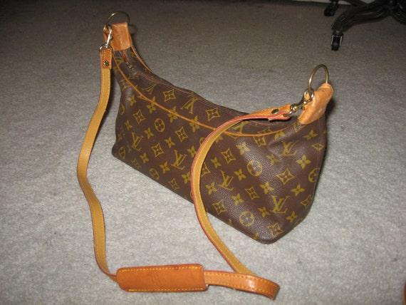Authentic Vintage Louis Vuitton Shoulder Bag Purse handbag sz medium