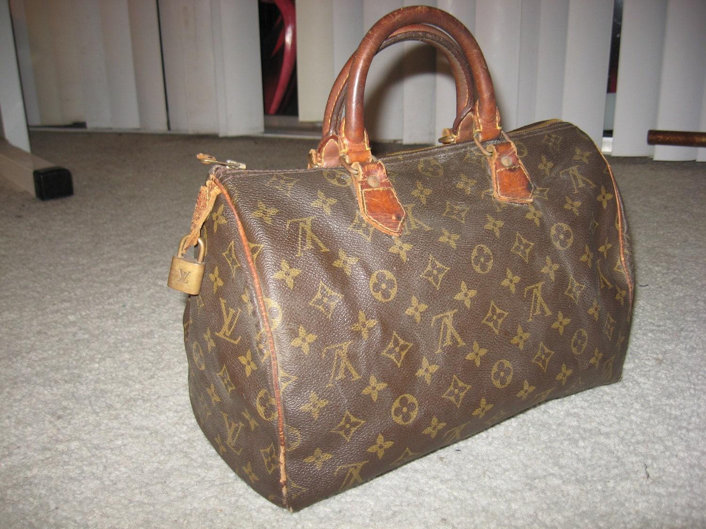 louis vuitton 1970 s bags. authentic vintage louis vuitton speedy bag purse handbag sz 1970 s bags t