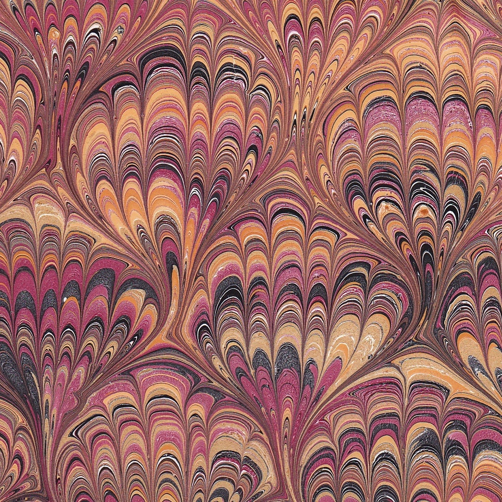 MudBay Images: Marbled End Papers 1