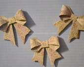Origami Bows Gift Wrapping  Qty. 10